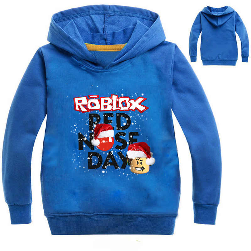 09c477d713889 Roblox T-shirt For Kids Boys Sweayshirt For Girls Clothing Red Nose Day  Costume Hoodied