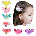 Free Shipping 20pcs/lot Little Girls Cartoon Mini Hairgrips