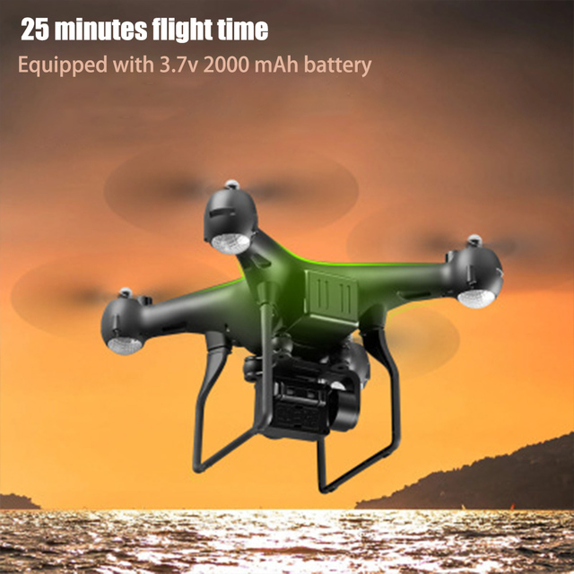Drone 4K S32T rotating camera quadcopter HD aerial photography air pressure hover a key landing flight 20 minutes RC helicopter 4