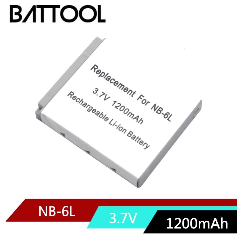 1X NB-6LH NB6L NB-6L Li-ion Battery For Canon Power-shot Camera HS SX520 SX530 SX540 SX600 SX610 SX700 SX710 IXUS 95 200 210 105