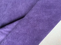 Натуральная Сплит фиолетовый цвет кожи свиньи для мешка, 7 квадратных футов
