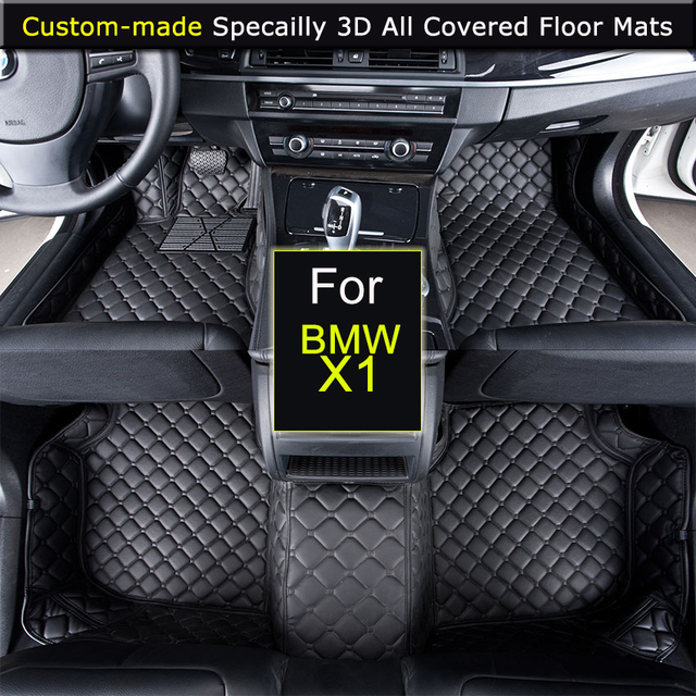 Car Floor Mats For Bmw X1 Xdrive Car Styling Foot Rugs Carpets 3d