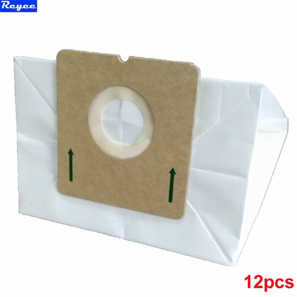 Aspirateur sac accessoires remplacement Sacs À Poussière pour <font><b>Hoover</b></font> R30 S1361 Arriva Purefilta HEPA Pack de 12 avec filtres gratuits