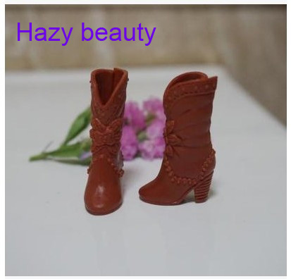 Different Styles For Choose Casual High Heel Shoes Boots For Barbie 1:6 Doll Fashion Cute Newest BBI00262