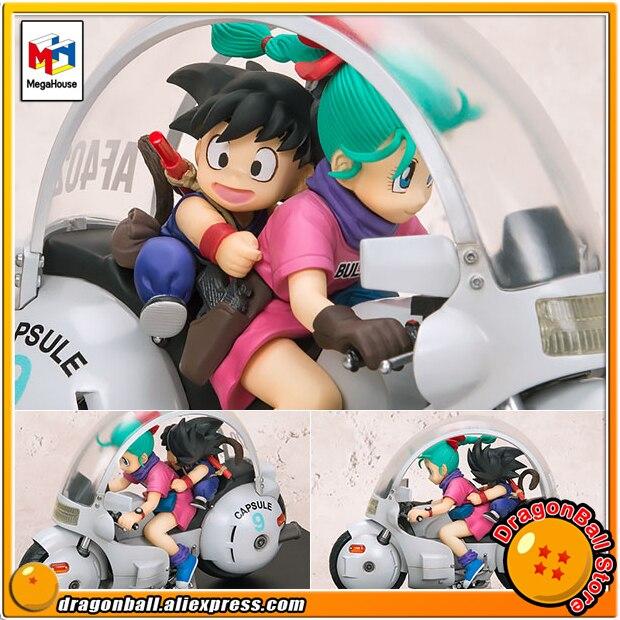 Japan Anime Dragon Ball Original MegaHouse DESKTOP REAL McCOY 6 Complete Figure - Son Goku & BulmaJapan Anime Dragon Ball Original MegaHouse DESKTOP REAL McCOY 6 Complete Figure - Son Goku & Bulma
