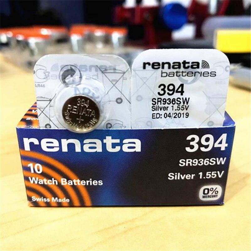 2 x Varta V391 SR1120W SR55 AG8 1,55V Silberoxid Knopfzellen Uhrenbatterien
