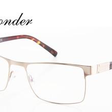 832967eeda Ojo maravilla hombres de moda Super Cool Flex cuadrado Metal diseñador gafas  ópticas marcos Oculos de grau ojos de acero inoxida.