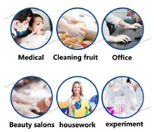 100pcs/lot Disposable PE Gloves Multifunction Transparent Thin Gloves for Home Kitchen Cooking Medical Cleaning