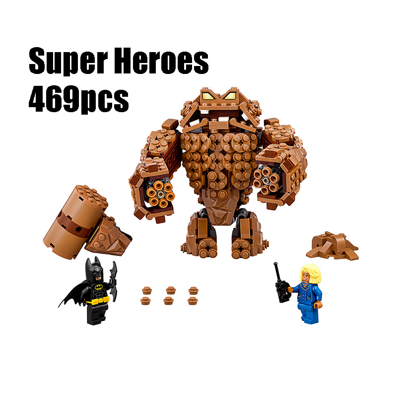 Compatible with Lego batman 70904 Lepin 07050 super heroes movie blocks Clayface Splat Attack toys for children building blocks lepin 02012 city deepwater exploration vessel 60095 building blocks policeman toys children compatible with lego gift kid sets