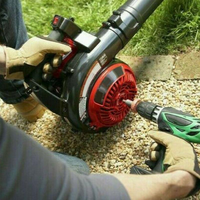 Hot Electric Engine Start Drill Bit Adapter Starter Plug Button Durable For Garden LSK99