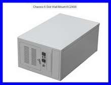 Computer case tank wall 6c2406 Small chassis support ATX power supply grey 1 2MM monitoring chassis