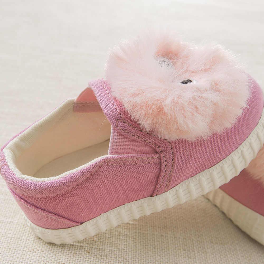 DB6438เดฟและเบลล่าเด็กสาวผ้าใบรองเท้าเด็กรองเท้าแฟนซีเจ้าหญิงรองเท้าผ้าใบ