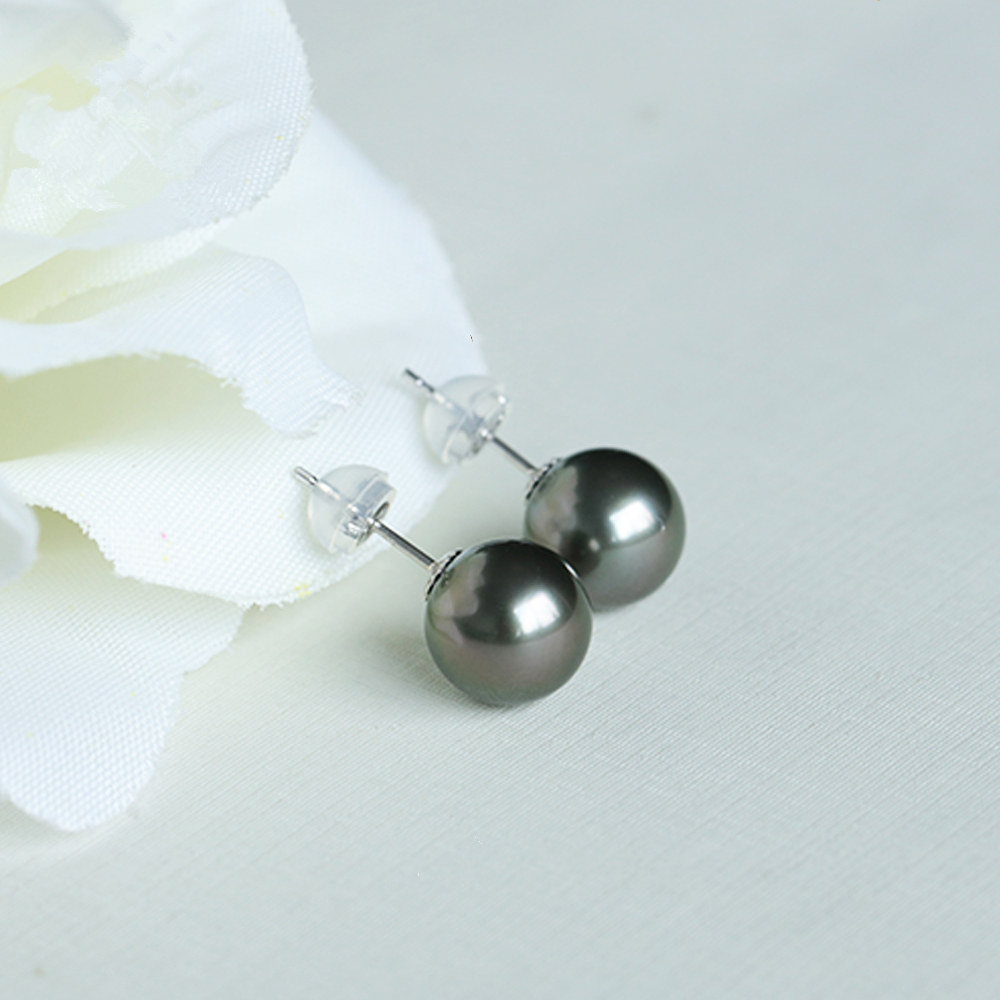 quality black japanese aaa necklace pearls akoya pearl