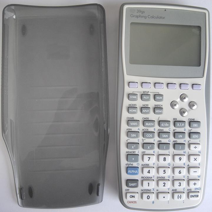 39GS Handheld Graphing Purpose Plastic Calculator SAT AP Accounting Mathematic Calculator For HP Scientific Calculator with