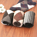 2016 Real Promotion Casual Men's Autumn And Winter Thick Warm Rabbit Wool Socks In Tube Socks, 5 Colors Per Lot (5 Pairs)
