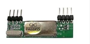 Image 4 - 433 Mhz Superheterodyne 3400 RF משדר & מקלט קישור ערכת לarduino ARM MCU