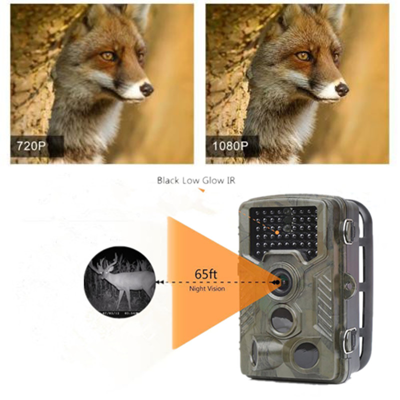 Newest HC800A Hunting Trail Camera Full HD 12MP 1080p Video Wild Night Vision Camera Trap Scouting Infrared IR Trail Camera hc800a hunting trail camera 12mp 1080p video wild night full hd vision camera trap scouting infrared ir trail camera trap
