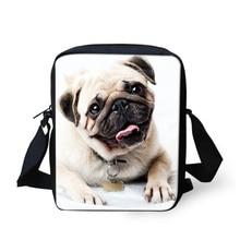Pug Messenger Bag for Women and Children