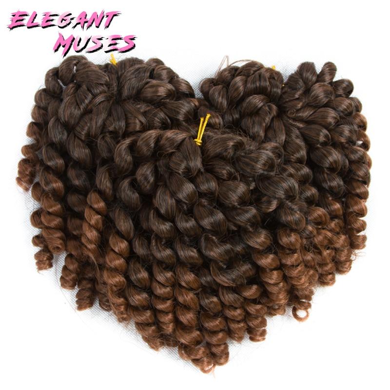 10 ίντσες Wand Κουρδιστό μαλλιά - Συνθετικά μαλλιά - Φωτογραφία 3
