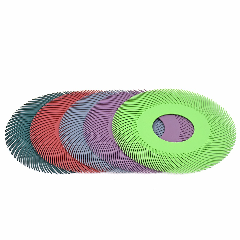 10pcs Abrasive Tools Radial Bristle Brush 6 Abrasive Tools Grinding Wheels for jewelry Polishing Tools 80#120#220#400#600#1000# goxawee 1pc buff polishing compound metal jewelry polishing compound abrasive paste abrasive tools blue white gray yellow green