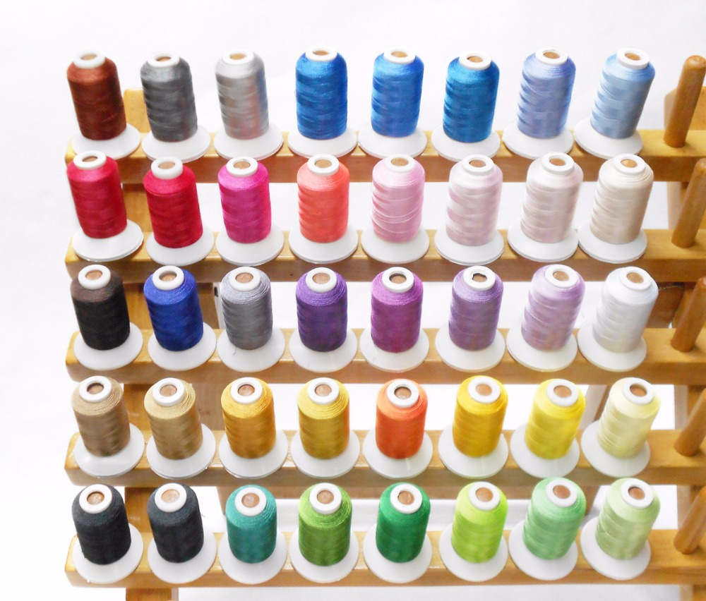 For russian client 40 brother colors machine embroidery thread for for russian client 40 brother colors machine embroidery thread for brother janome machines 500m each in thread from home garden on aliexpress nvjuhfo Choice Image