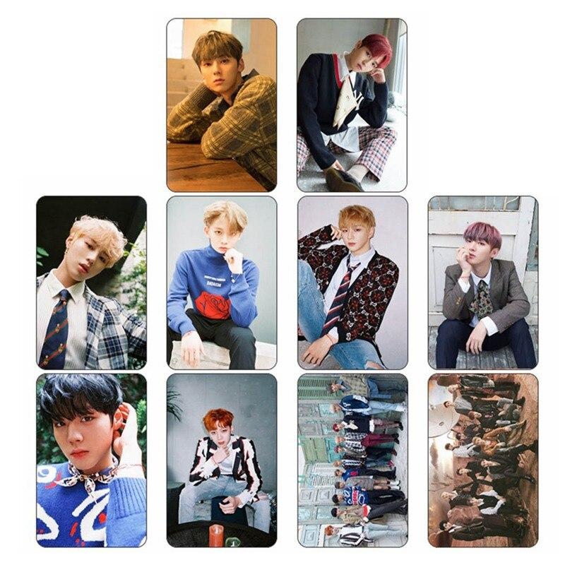 10 Teile/satz Kpop Wollen One Album Ich Versprechen Sie Selbst Made Papier Lomo Karte Foto Karte Poster Hd Photocard