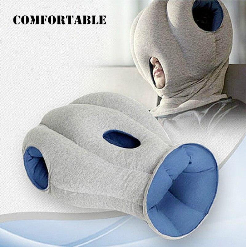 creative magical ostrich pillow office nap pillow portable travel pillows car pillow siesta artifact noon break rest sleepin travel pillows from home