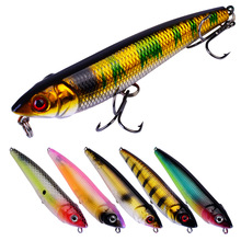 New Artificial Bait 91mm / 10G 6 Color Fake Fishing Bionic Freshwater Sea