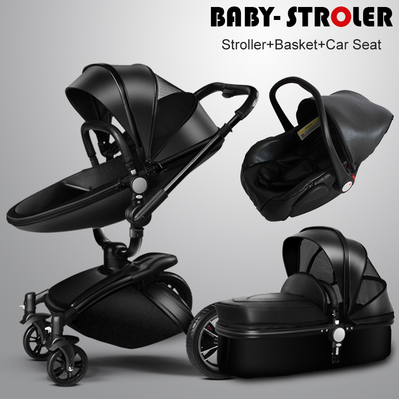 more gifts usa free ship brand baby stroller 3pcs 3 in 1. Black Bedroom Furniture Sets. Home Design Ideas