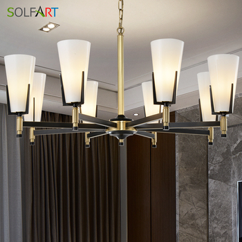 Chandelier Lighting Lustre Cristal Led Chandeliers Modern Simple Style Lighting Fixtures Lamp