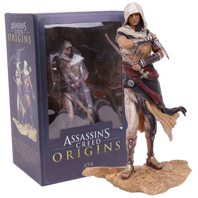 Assassins Creed Origins Aya Statue PVC Figure Collectible Model Toy
