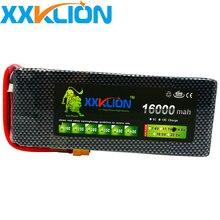XXKLION 14.8V 16000 mah drone battery FPV 4S 25C air plane use power high quality lithium