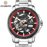 STARKING Marca de Topo Relógio Automático dos homens de Moda Design Moderno Esqueleto de Relógio Mecânico Masculino Esporte Ao Ar Livre Relógios TM0901