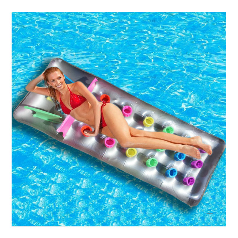 170-60cm-Inflatable-Floating-Row-18-Holes-With-Pillow-Lounger-Swimming-Borad-Air-Mattress-Comfortable-Pool (2)