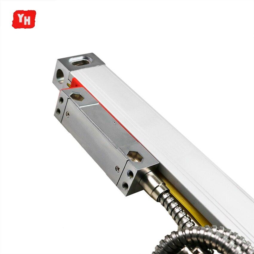 Longueur de ligne Optique Ligne TTL 5 V 22*34 Taille de Section Transversale Échelle Linéaire Dimensions 100 200 300 400 500 600 700 800 900 1000mm