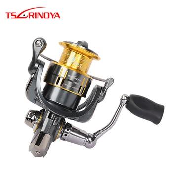 2018 Tsurinoya 2000 Size Spinning Fishing Reel 9+1BB/5.2:1/5kg Steering Wheel Lure Reels Carretel De Arremesso Moulinet Peche