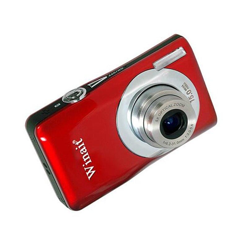 Offre spéciale 2.7 pouces Mini caméra vidéo numérique 15MP 1080 P TFT LCD écran 5X Zoom caméscope Nightshot Face fonction prioritaire