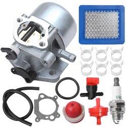 Klem Carburateur Kit 799866 796707 Quantum Motor Air fuel filter bougie Voor Briggs & Stratton 790845 799871-in Onderdelen & accessoires van Huis & Tuin op