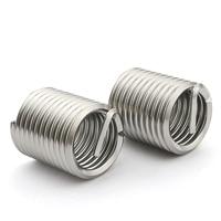 10PCS-M5*0.8*2.5D 304 Stainless Steel Wire Screw Sets /Wire Braces /Thread Jacket / Screw Sets