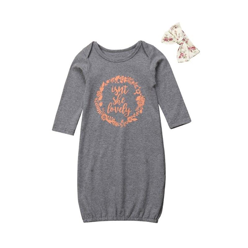 Neugeborenen Baby Mädchen Schlafsack Langarm Kuscheln Swaddling Decke Schlafsack Wrap Stirnband Infant Kinder Nachtwäsche 0-18 Mt Schnelle WäRmeableitung