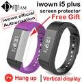 Original iwown i5 más i5plus pulsera pulsera inteligente bluetooth 4.0 smartband actividad rastreador pasómetro monitor de sueño