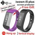 Original pulseira i5plus iwown i5 mais inteligente pulseira bluetooth 4.0 passometer smartband atividade rastreador monitor de sono