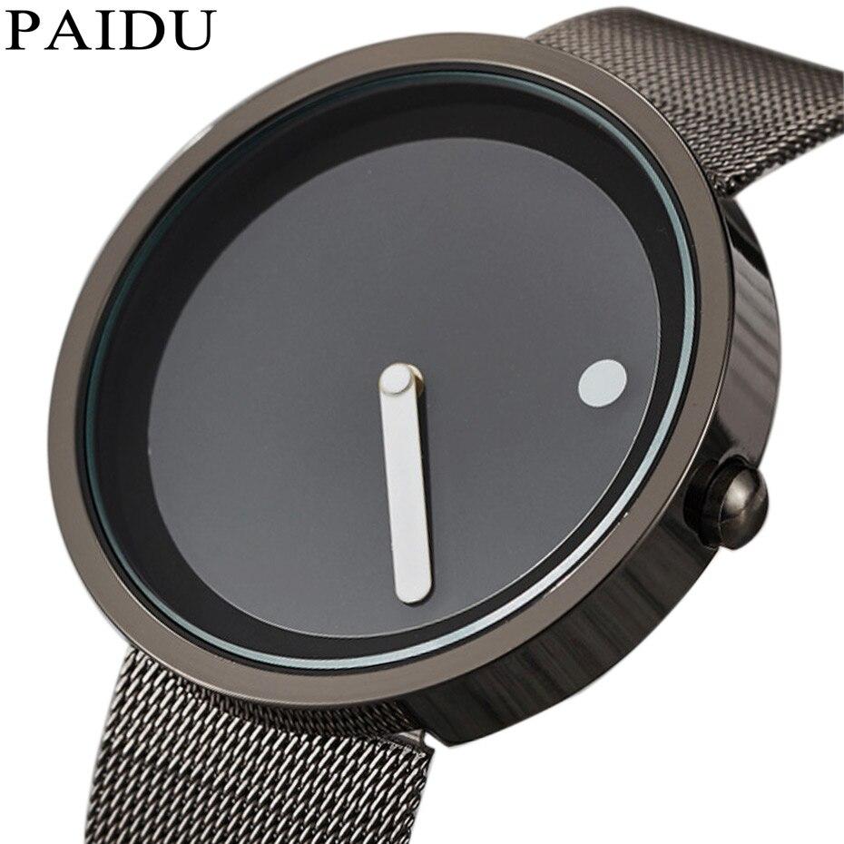 Unisex Minimalist Creative Watches…