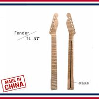 Guitar accessories parts Electric Guitar Neck ST/TL tiger pattern maple xylophone neck,21 Fret