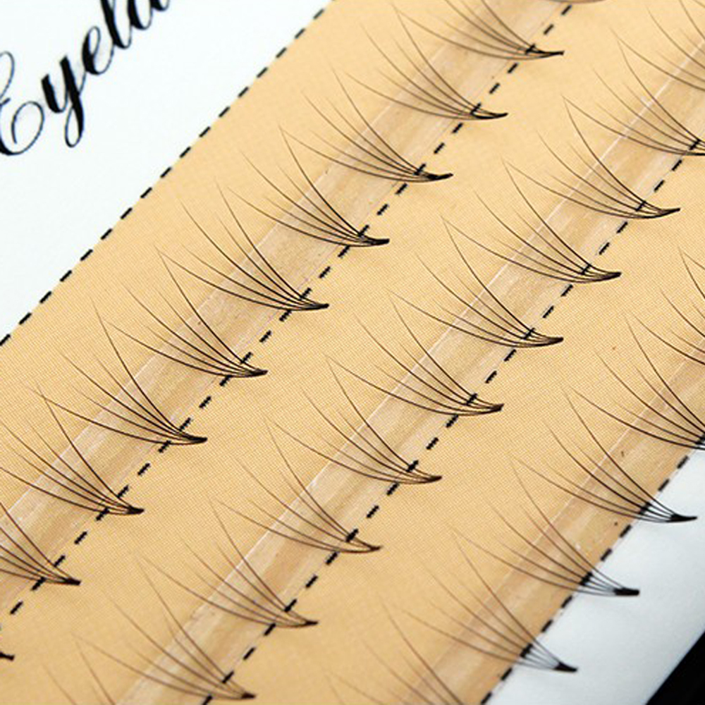 0.07 C 5D False Eyelashes Wave Individual Eyelash Extension Of Mink Black Soft False Eye Lashes Makeup Tools