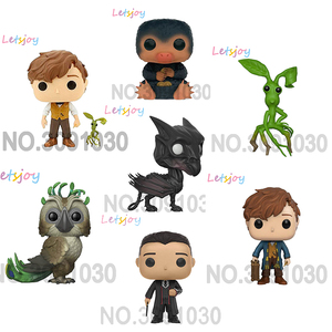 OFFICIAL 10cm pop horse Fantastic Beasts and Where to Find Them Newt Scamander Movie action figure toys for children Vinyl Doll