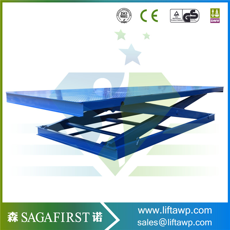 Warehouse Used Inside Hydralic Scissor Lift For Lifting