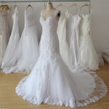 Amanda Chen Novias Spaghetti Straps Mermaid Wedding Dress