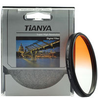 WTIANYA Bule Orange Grey Graduated Filter sets with filter pouch for Canon Nikon Sony Pentax 52mm Lens