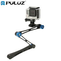 PULUZ 17 Inch Adjustable CNC Aluminum Extension Magic Arm Mount Kit For GoPro HERO6 5 5